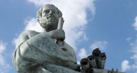 aristoteles'e göre sanat anlayışı