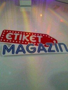 etiket magazin